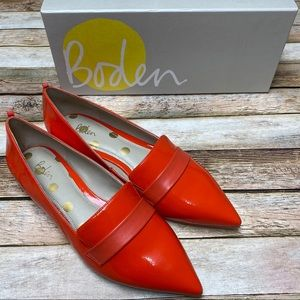 Boden Octavia Pointed Loafers Flats IOB NWOT